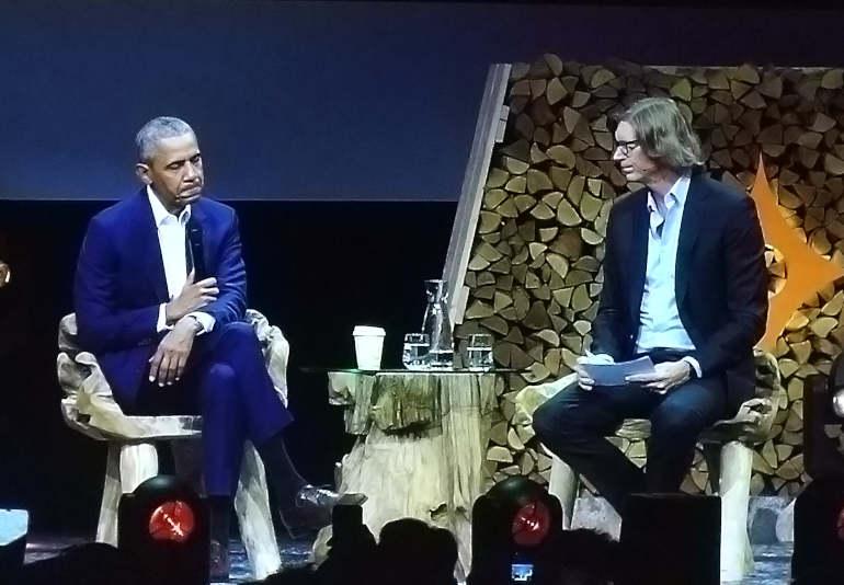 Barack Obama ja Niklas Zennström