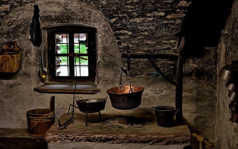 Vanha keittiö