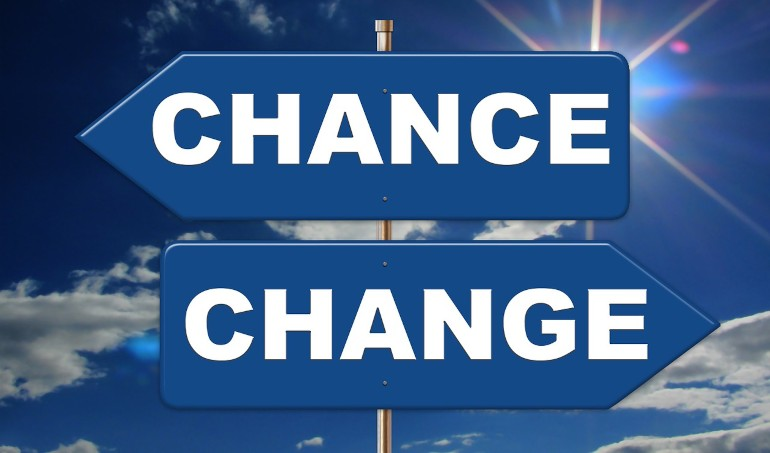 Muutos on mahdollisuus